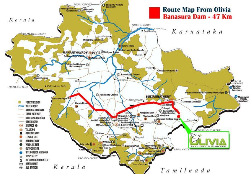 Wayanad Tourist Destinations